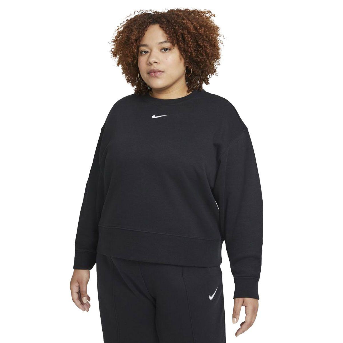 Nike Maglia Girocollo Sportswear Collection Essentials Donna Nero