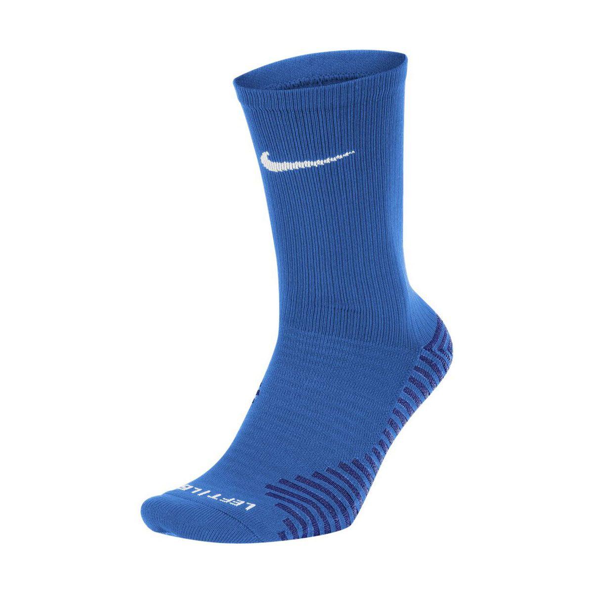 Nike Calze Squad Blu Bianco