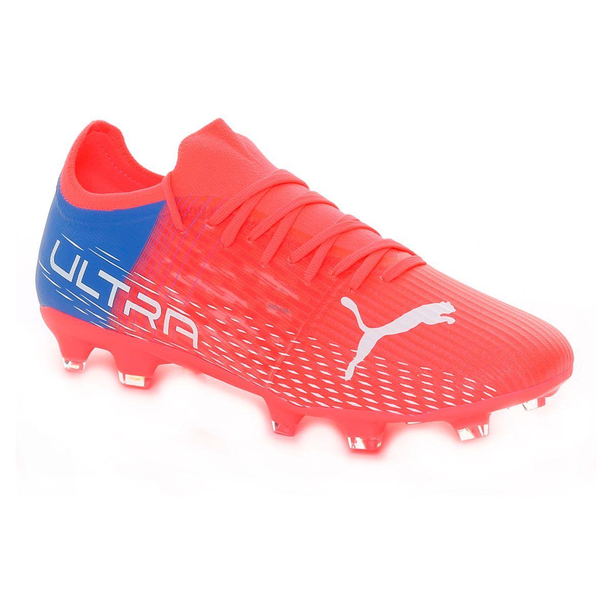Puma Ultra 3.3 Fg/Ag Uomo Rosso Blu