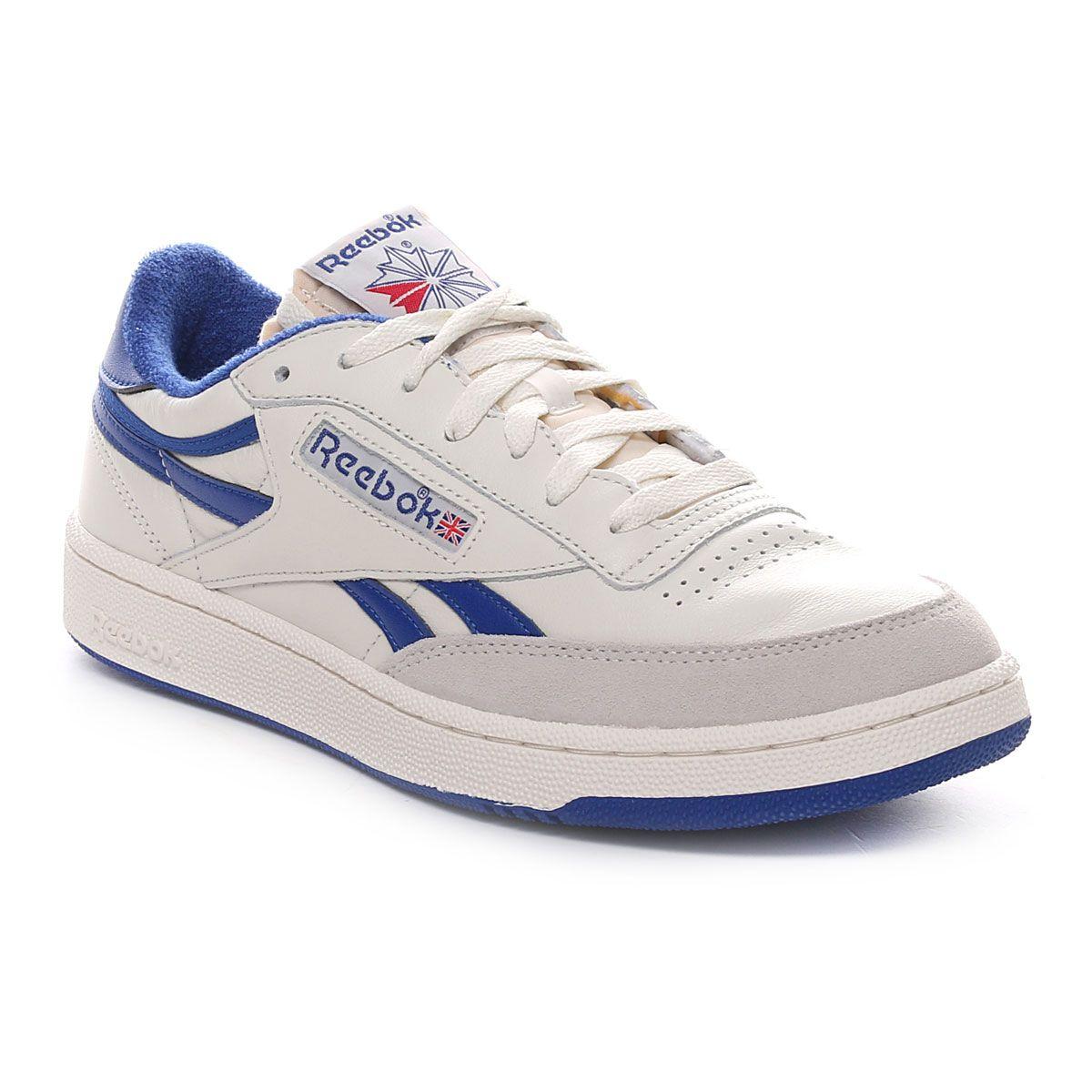 Reebok Club C Revenge Vintage Uomo Bianco Blu