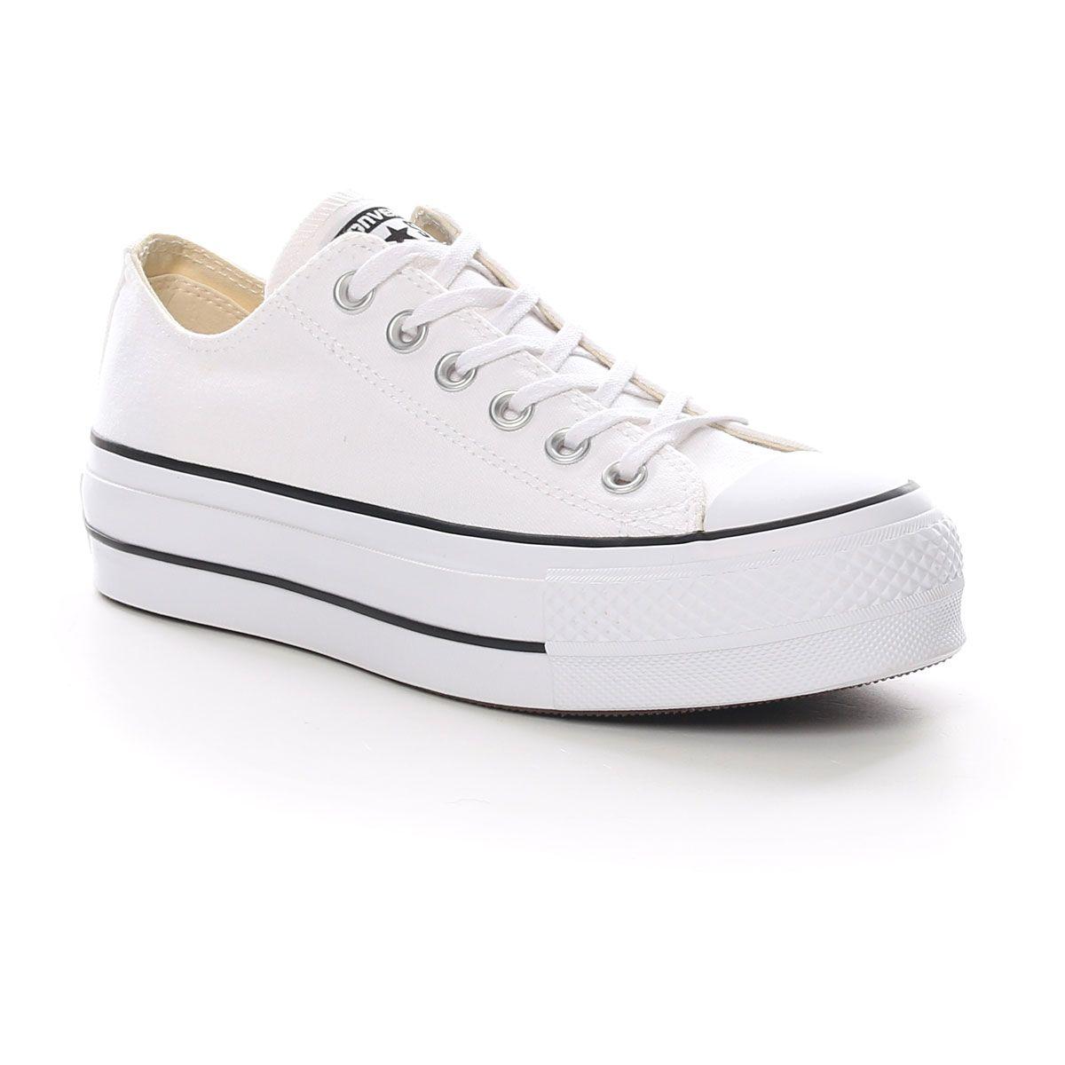 Converse All Star Lift Clean Platform W White