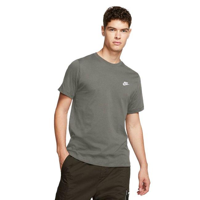 Nike T-Shirt Sportswear Club Uomo Verde