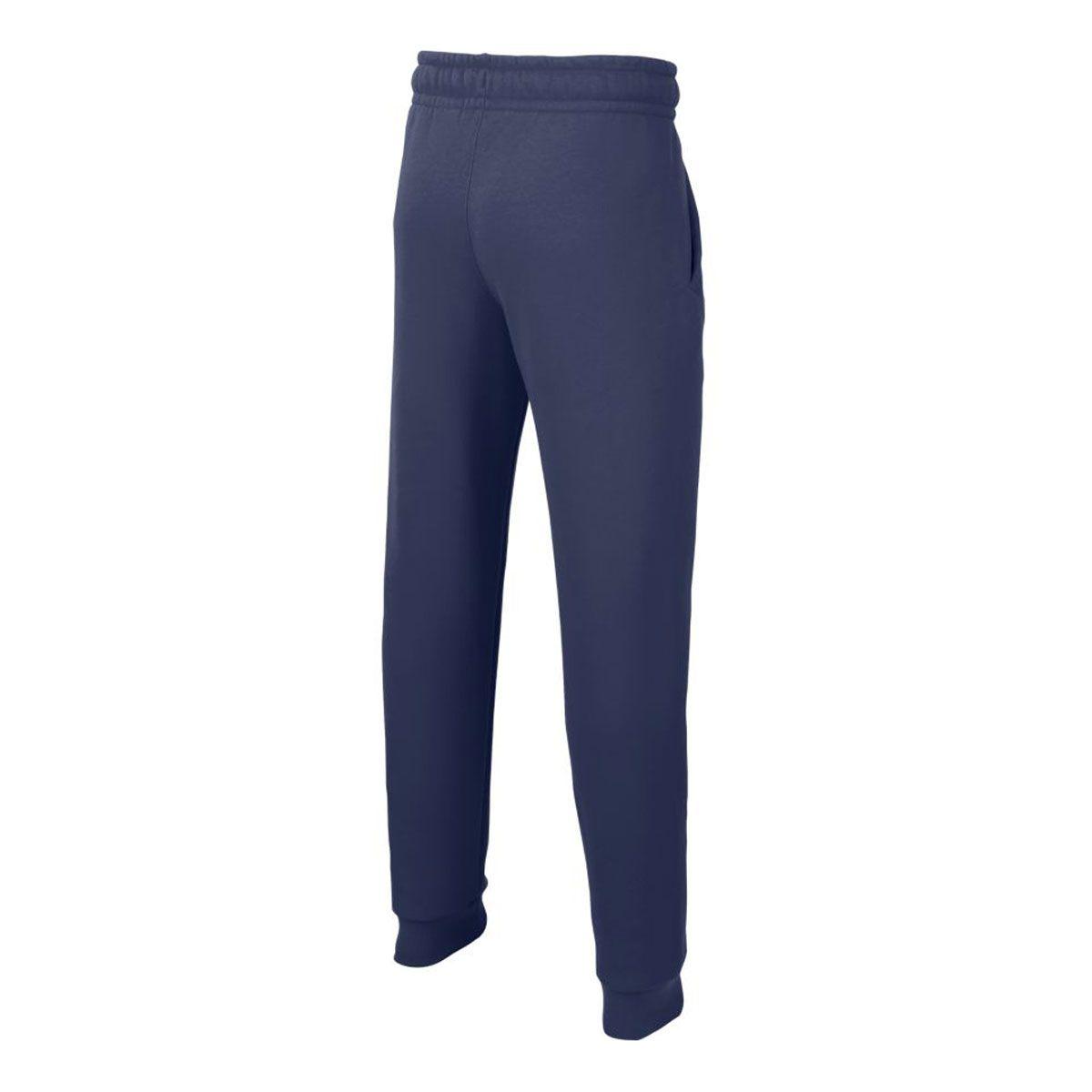 Nike Pantaloni Sportswear Club Fleece Bambino Blu Bianco