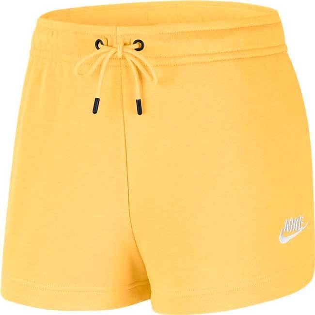 Nike Short Essentials Donna Giallo