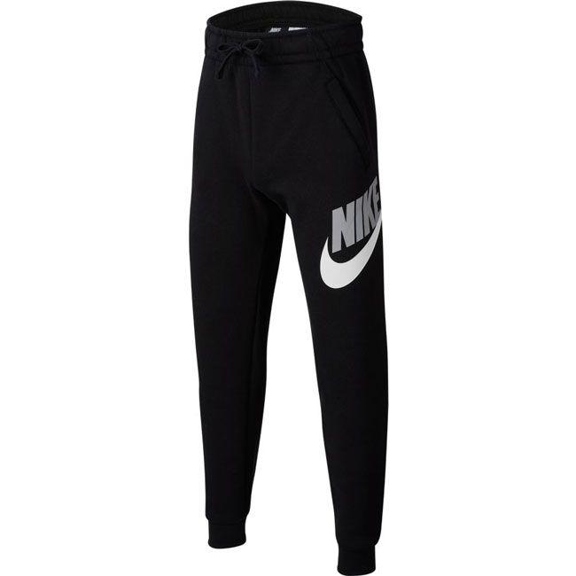 Nike Pantaloni Sportswear Club Fleece Bambino Nero Grigio