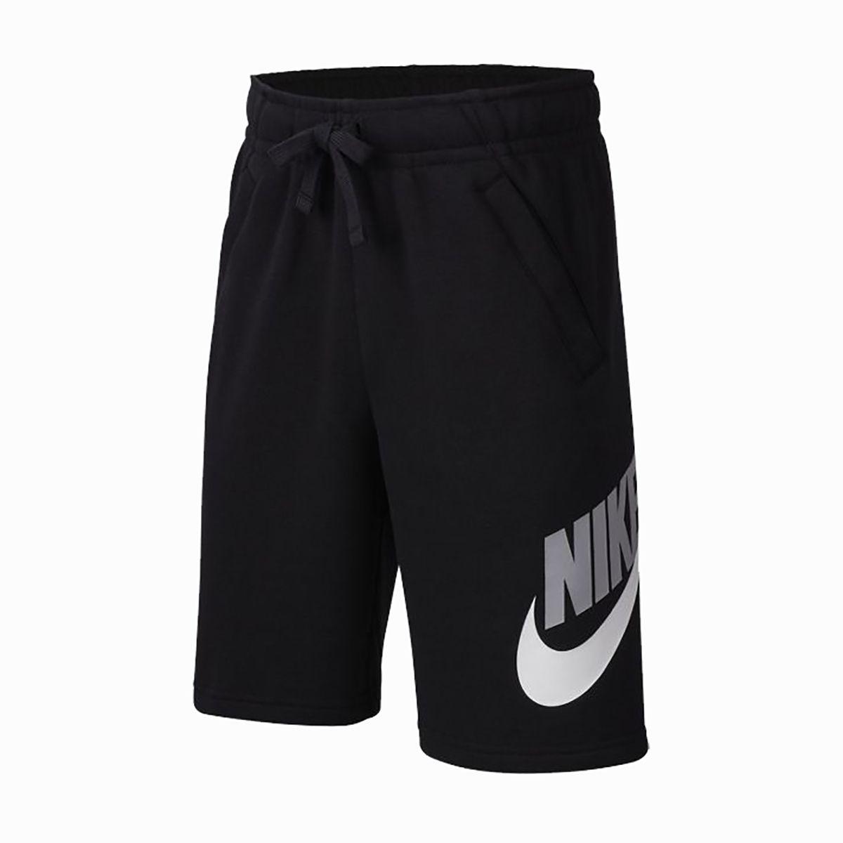 Nike Short Cotone Hbr Club Bambino Nero