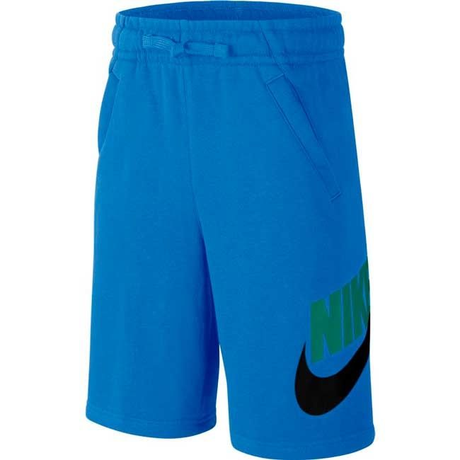 Nike Short Cotone Hbr Club Bambino Azzurro