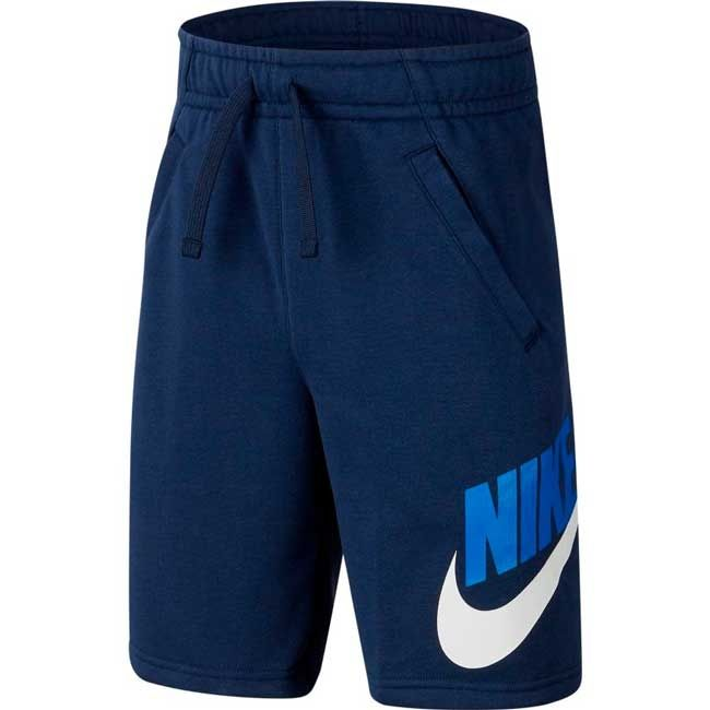 Nike Short Cotone Hbr Club Bambino Blu