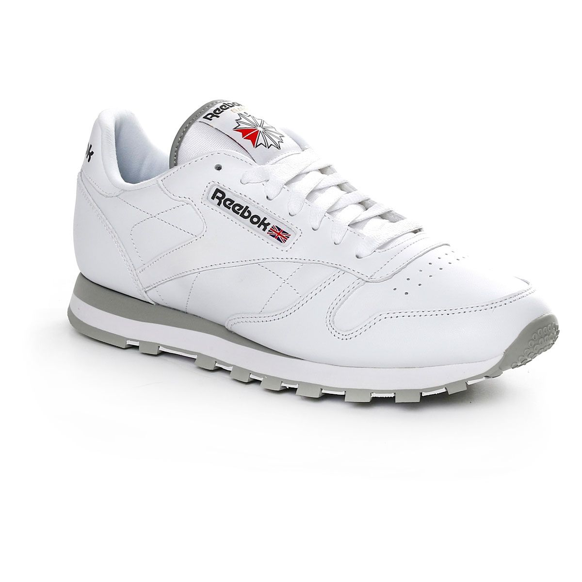 Reebok Classic Leather White Grey