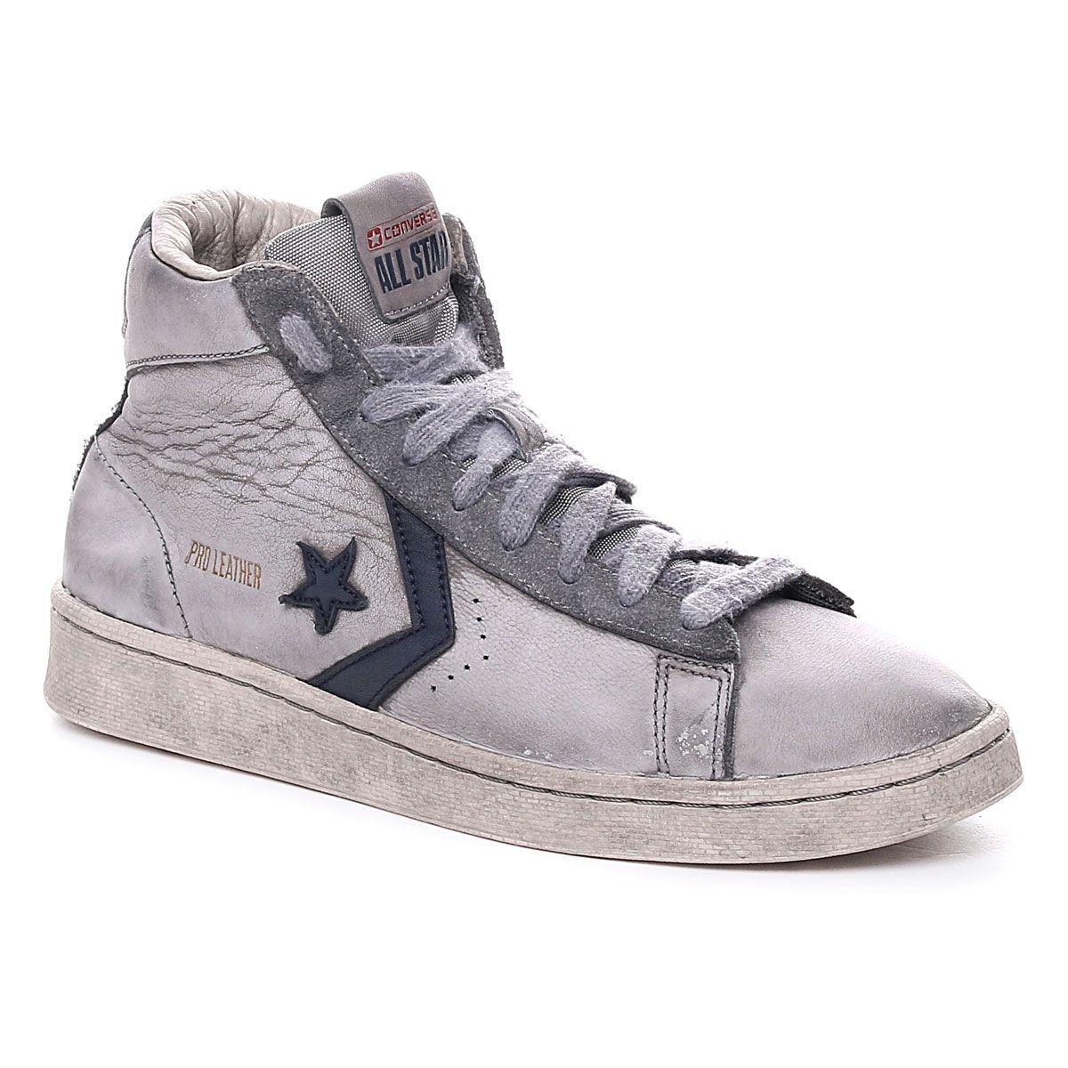 Converse Pro Leather Mid Og Limited Bianco Blu