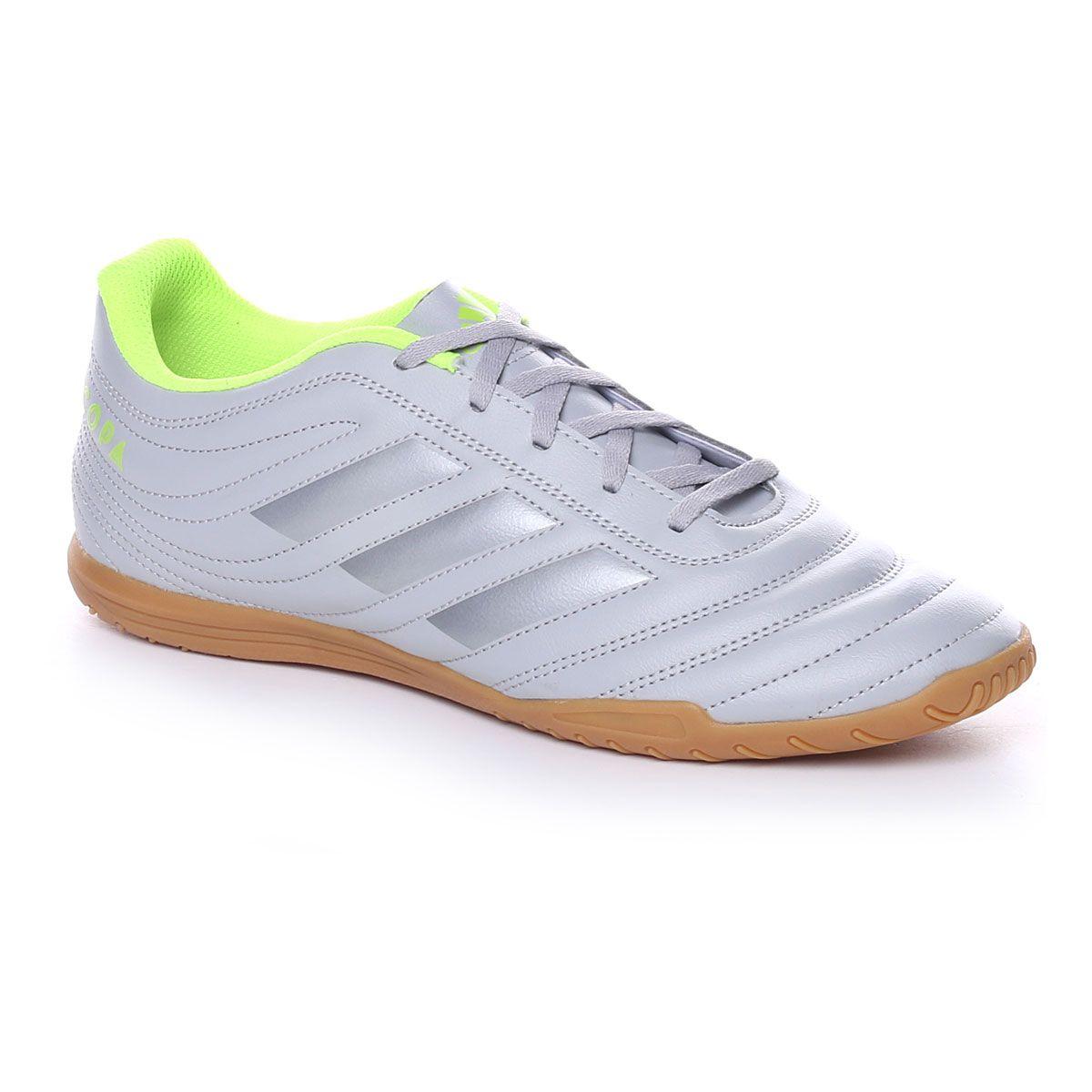 adidas Copa 20.4 In Uomo Grey Silver Solar Yellow