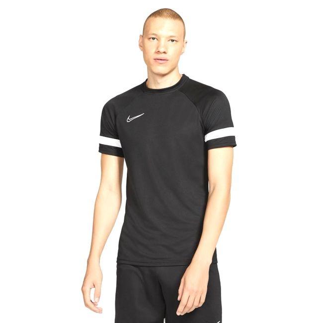 Nike Maglia da calcio Dri-FIT Academy Uomo Nero Bianco