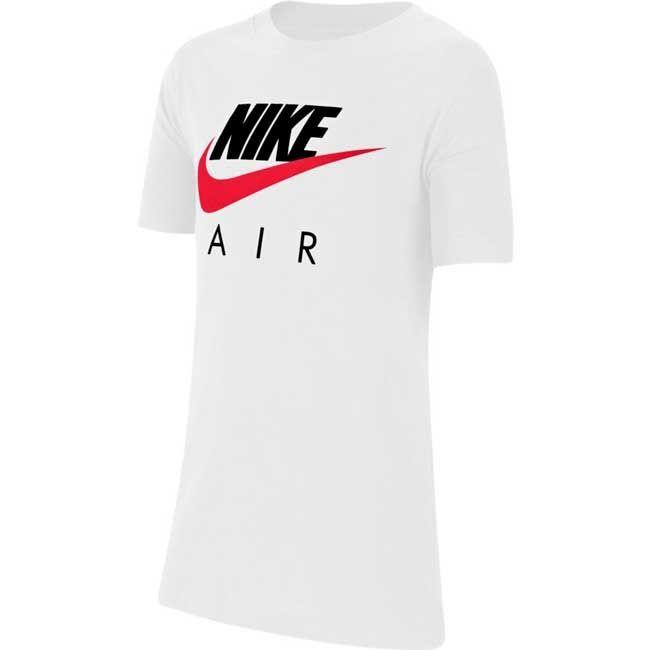 Nike T-Shirt Air Uomo Bianco Blu