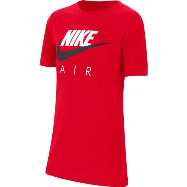 Nike T-Shirt Air Bambino Rosso Nero
