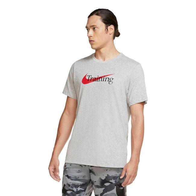 Nike T-Shirt Dri-FIT Training Uomo Grigio