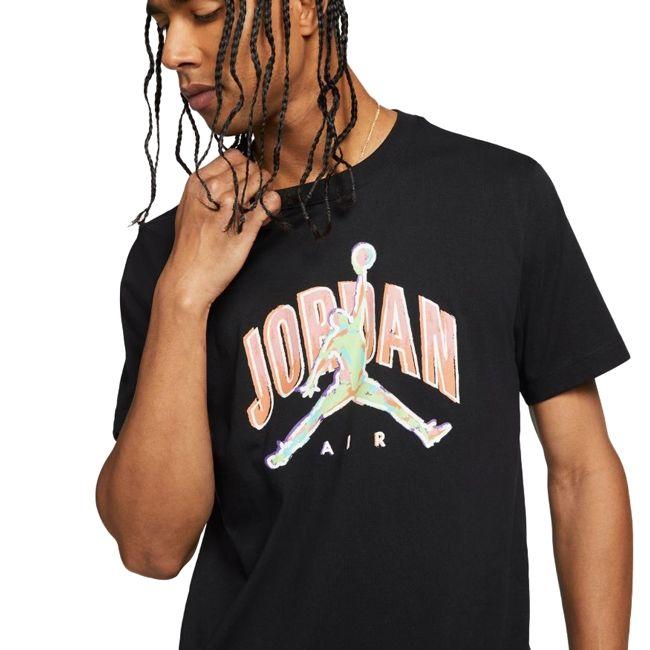 Nike T-Shirt Jordan Air Uomo Nero