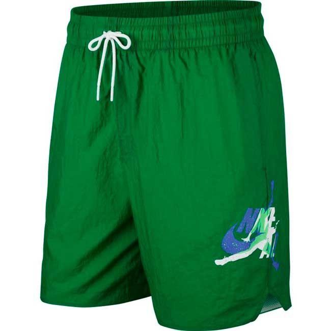 Nike Jordan Short Poolside Jumpman Uomo Verde