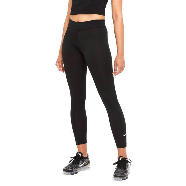 Nike Leggings Sportswear Essential Mid-Rise Donna Nero