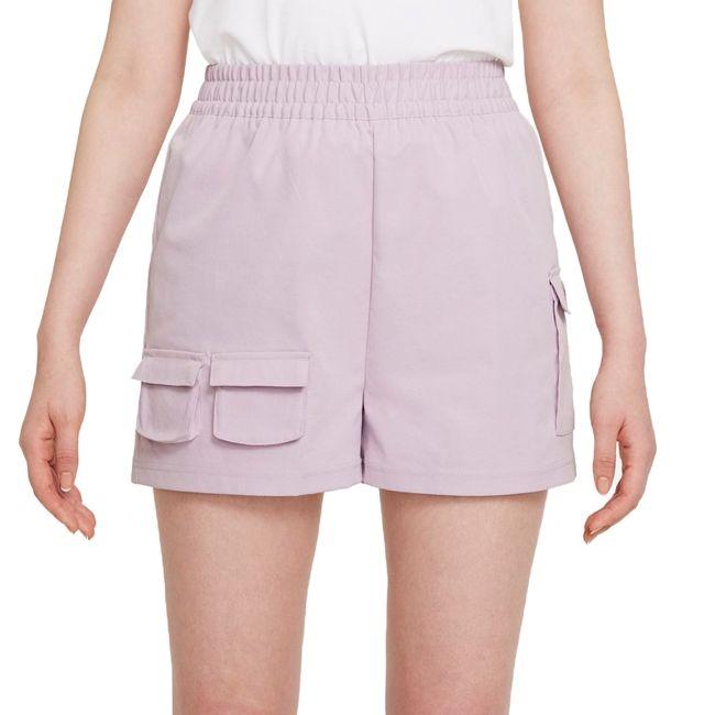 Nike Short Cargo Sportswear Swoosh Donna Lilla