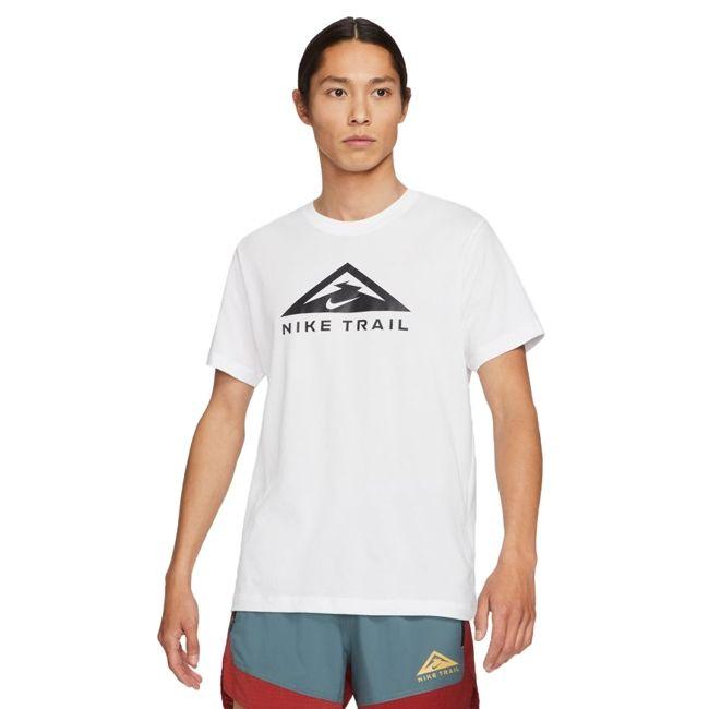 Nike T-Shirt Dri-FIT Trail Rise 365 Uomo Bianco