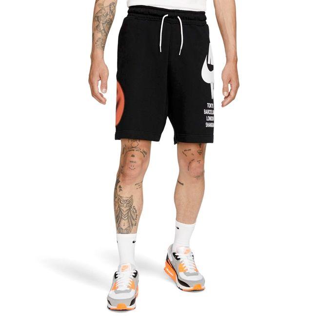 Nike Short Sportswear WorldTour Uomo Nero Bianco