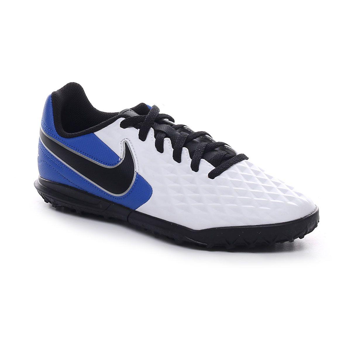 Nike Legend 8 Club Tf Junior Bianco Blu