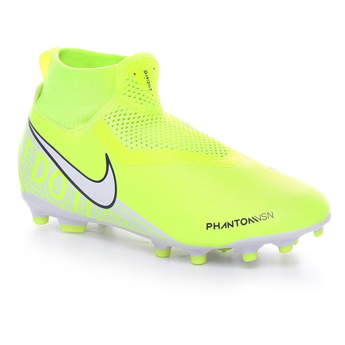 Nike Jr. Phantom Vision Academy Dynamic Fit Mg Volt White