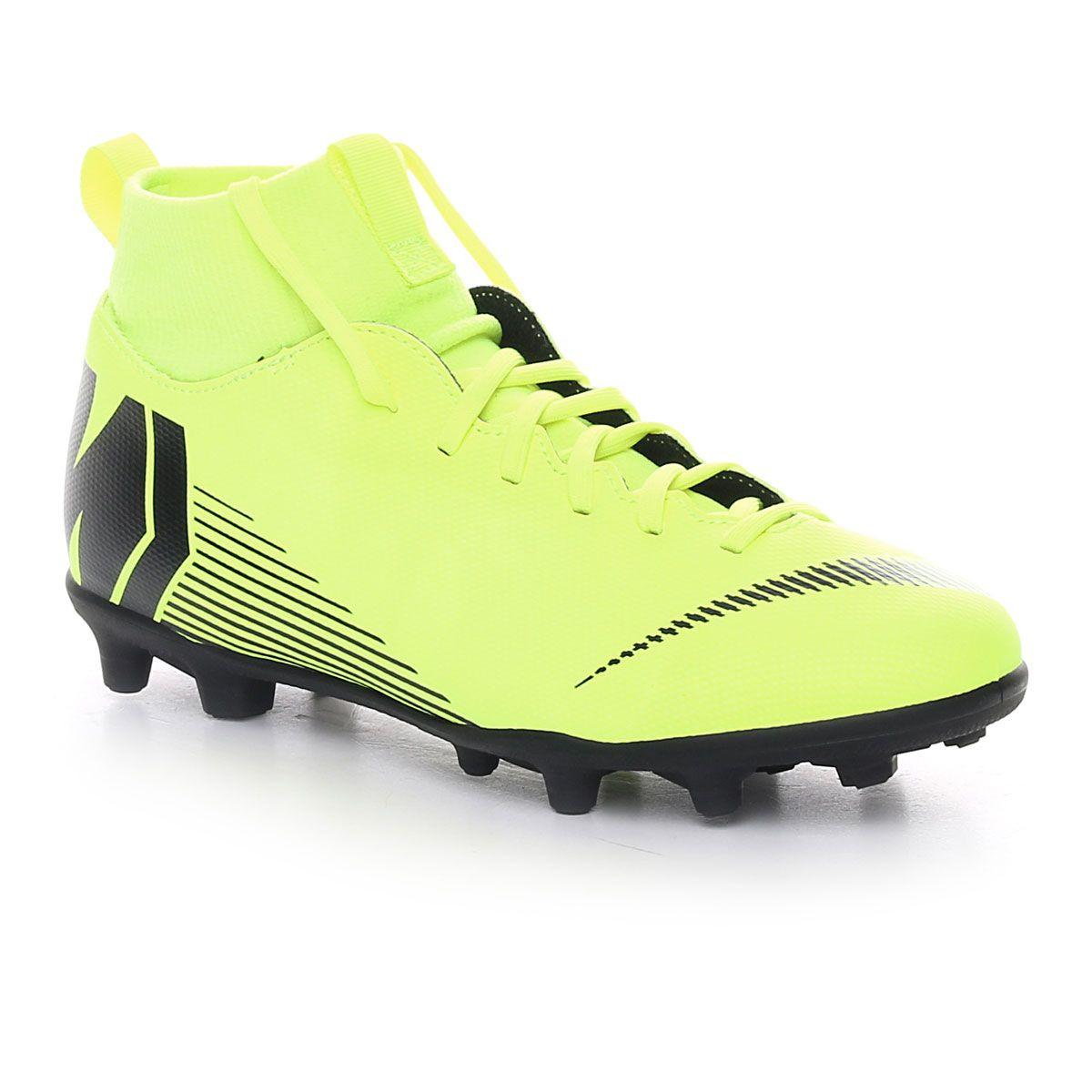 Nike Mercurial Superfly 6 Club Mg Jr Volt Black