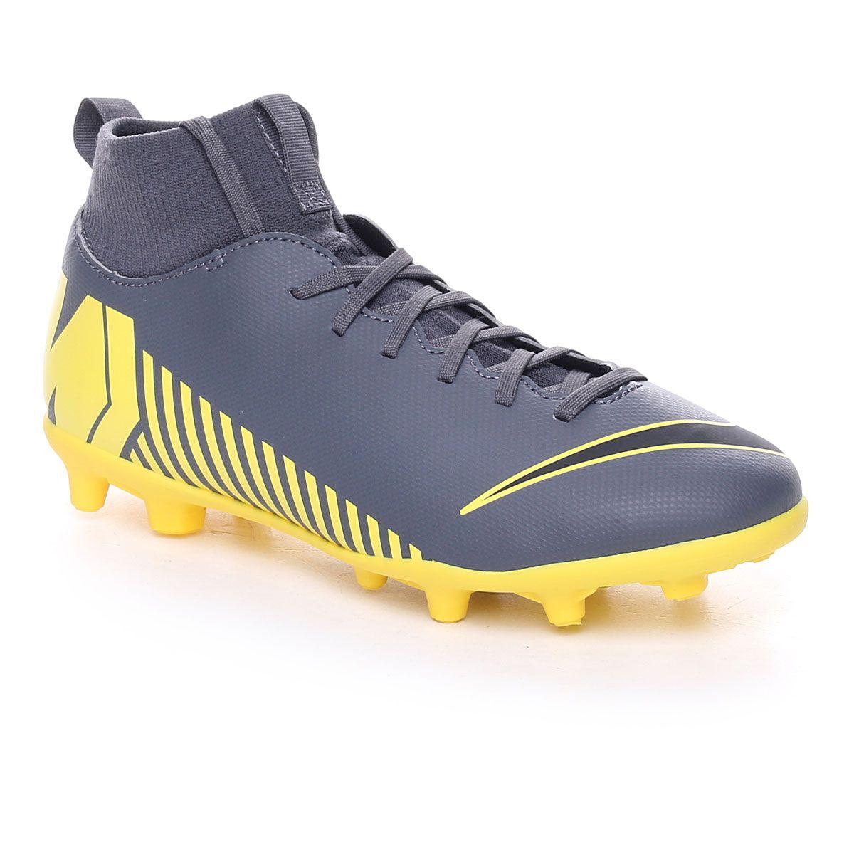 Nike Superfly 6 Club Mg Jr Grey Yellow