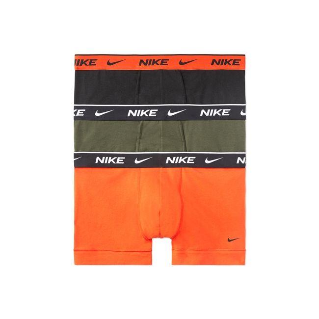 Nike Underwear Everyday Boxer Parigamba 3Pack Uomo Grigio Arancione Nero