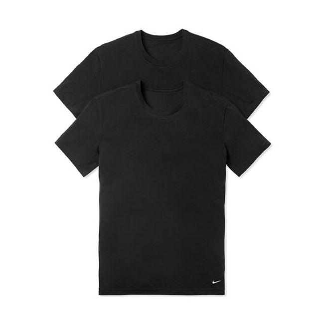 Nike Underwear Everyday T-Shirt Girocollo 2Pack Uomo Nero