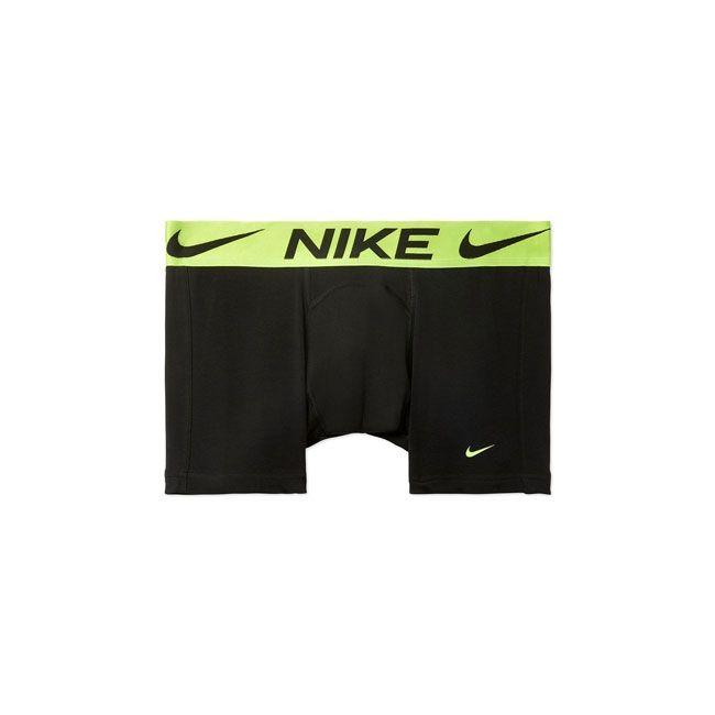 Nike Underwear Luxe Boxer Parigamba Uomo Nero Lime