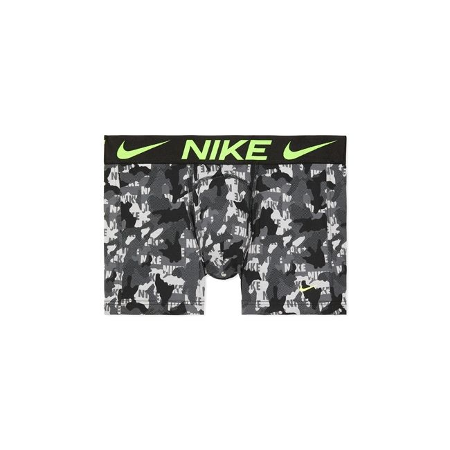 Nike Underwear Everyday Boxer Parigamba 2Pack Uomo Nero Grigio Lime