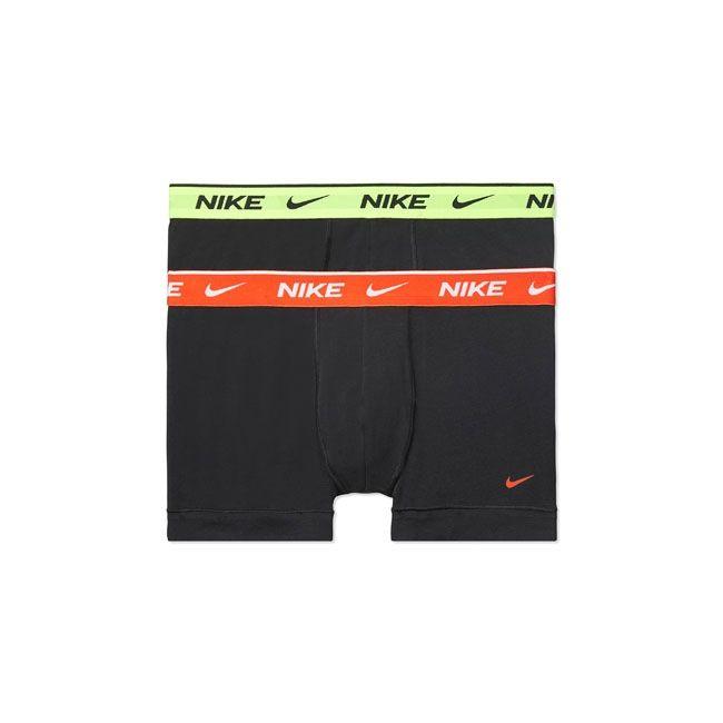 Nike Underwear Everyday Boxer Parigamba 2Pack Uomo Nero Multicolor