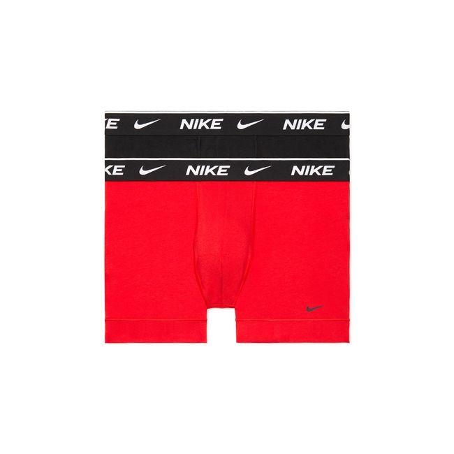 Nike Underwear Everyday Boxer Parigamba 2Pack Uomo Nero Rosso
