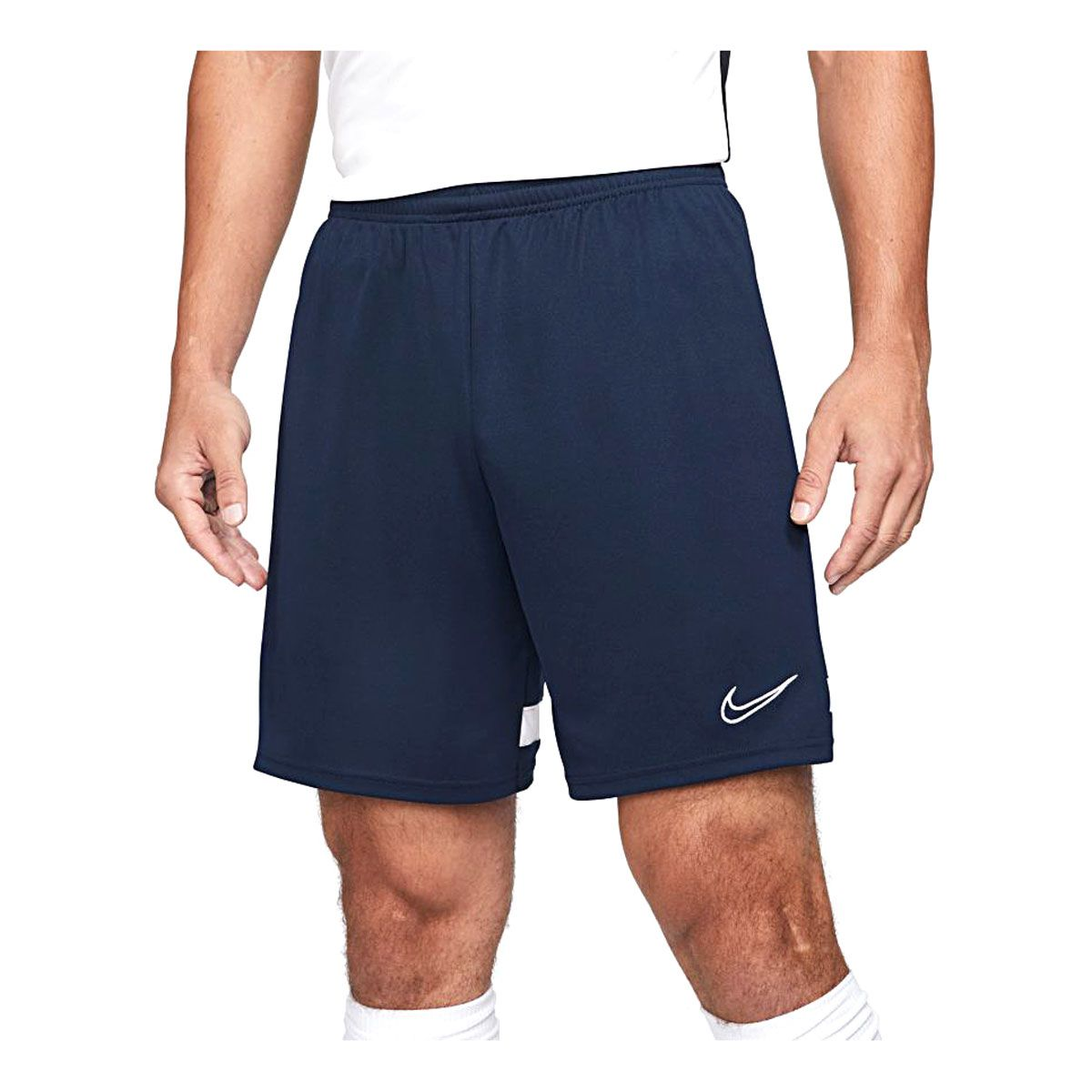 Pantaloncini Nike Dri-FIT Academy Uomo Blu Bianco