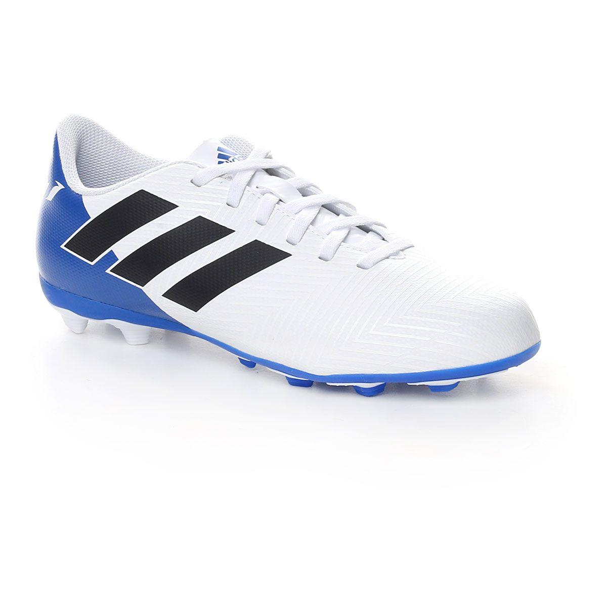 adidas Nemeziz Messi 18.4 Fxg J White Blue