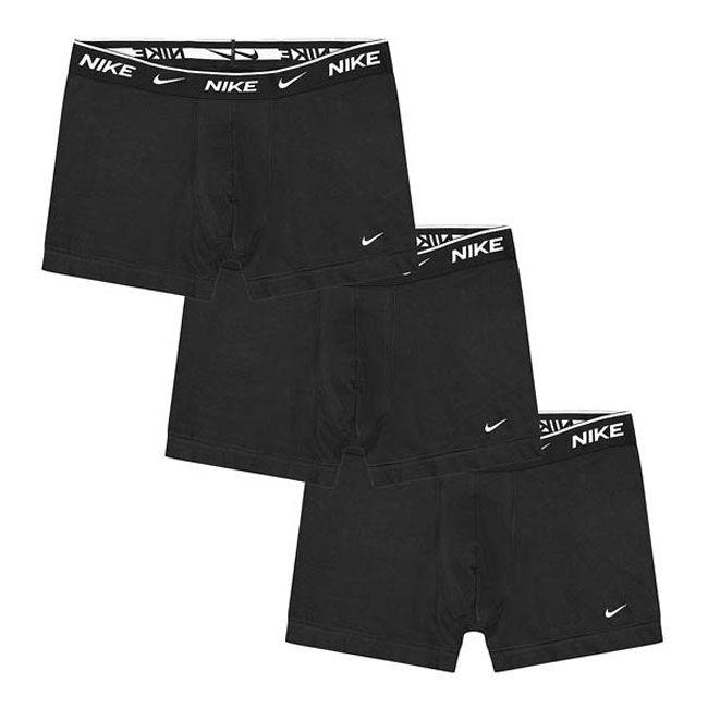 Nike Underwear Everyday Boxer Parigamba 3Pack Uomo Nero