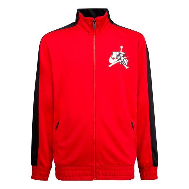 Nike Giacca Jordan Jumpman Bambino Rosso Nero