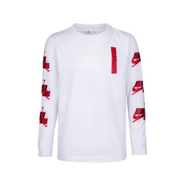 Nike T-Shirt Jordan Jumpman 3 Peat Bambino Bianco