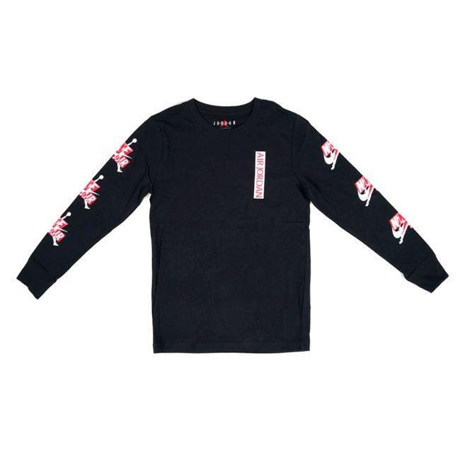 Nike T-Shirt Jordan Jumpman 3 Peat Bambino Nero