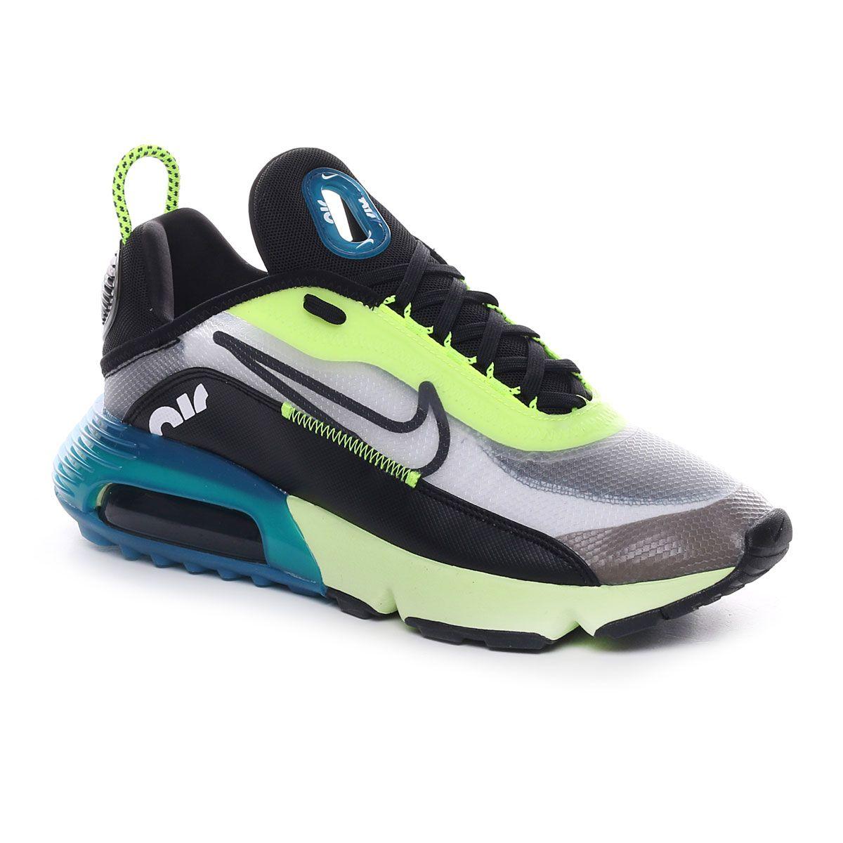 Nike Air Max 2090 Uomo Nero Verde Fluo