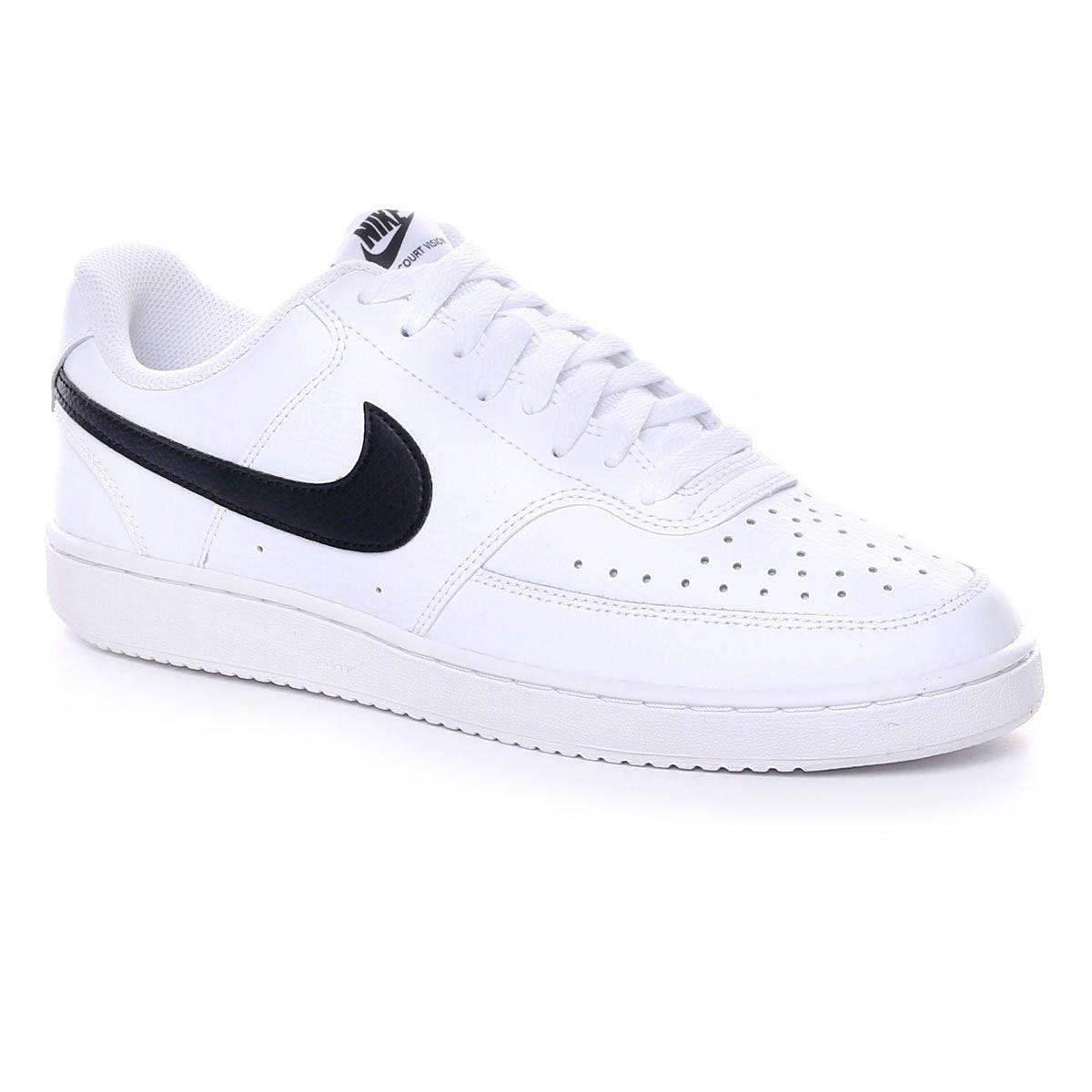 Nike Court Vision Low Bianco Nero