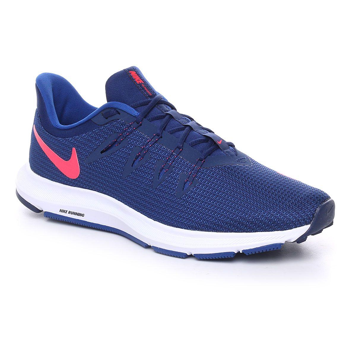 Nike Quest Blue Void Red Orbit