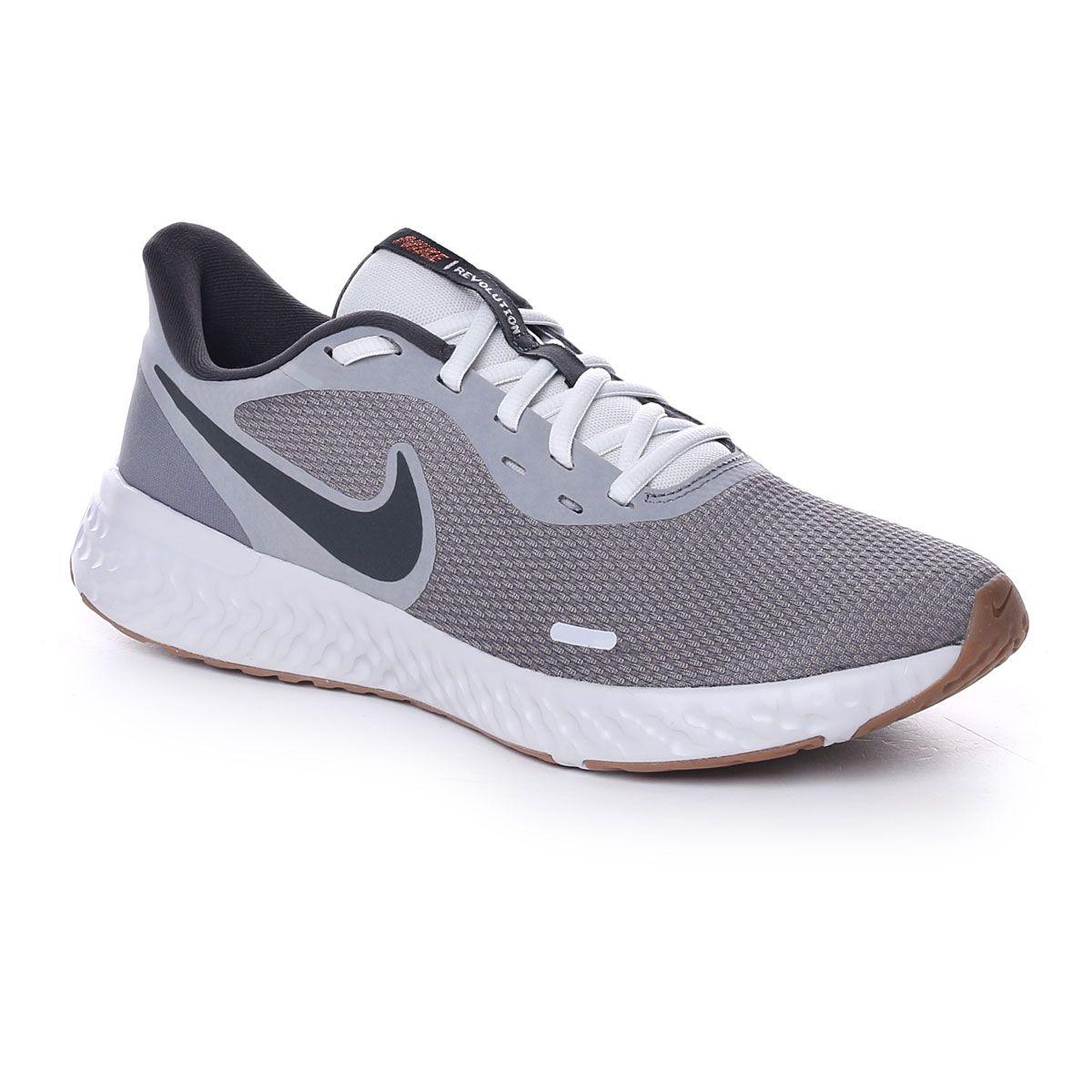 Nike Revolution 5 Uomo Grigio Nero