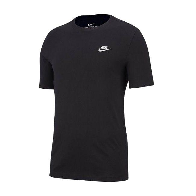Nike T-Shirt Sportswear Club Uomo Nero