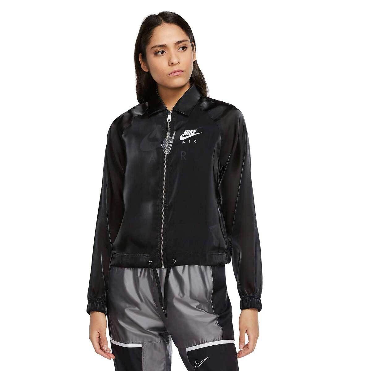 Nike Giacca Air Coach Donna Nero