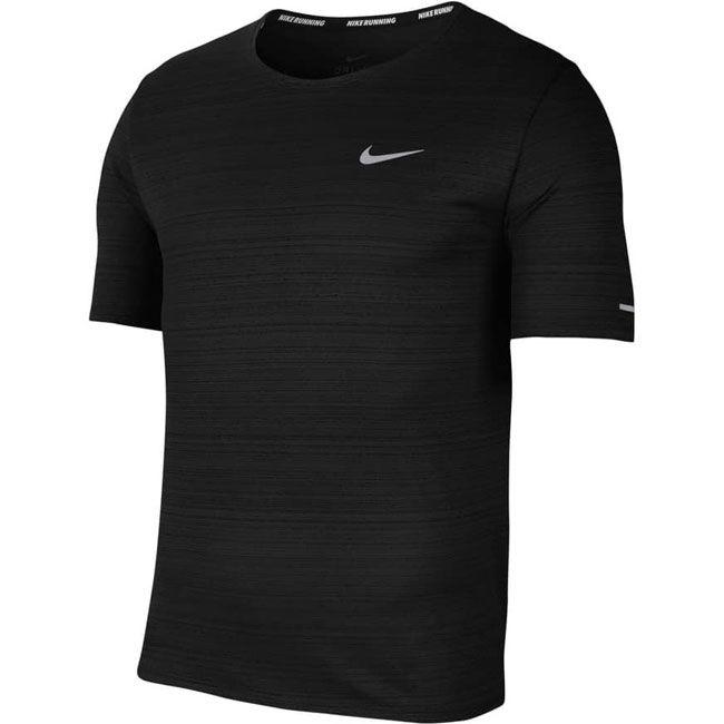 Nike T-Shirt Dri-FIT Miler Uomo Nero