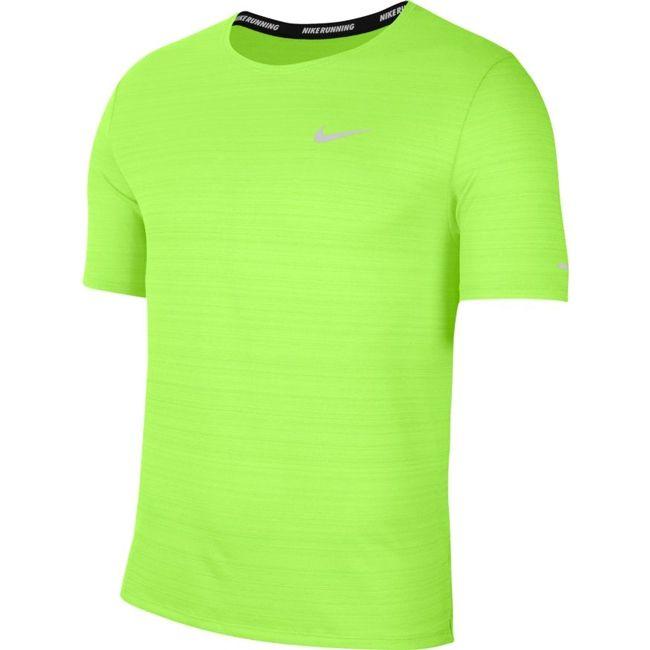 Nike T-Shirt Dri-FIT Miler Uomo Verde