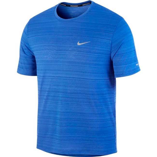 Nike T-shirt Dri-FIT Miler Uomo Blu